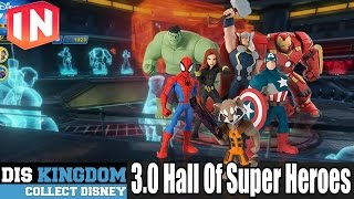 getlinkyoutube.com-Disney Infinity 3.0 Hall Of Super Heroes (Marvel)