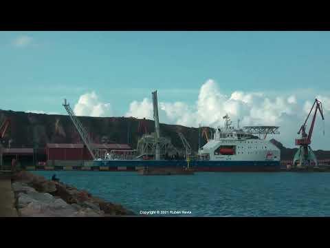 Click to view video BLUE EAGLE IMO 9880893 3FXJ5 PANAMA grabado en GIJON en HD el 22.09.2021 por Rubén Hevia