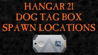 getlinkyoutube.com-Dog Tag Box Spawn Locations - Hangar 21