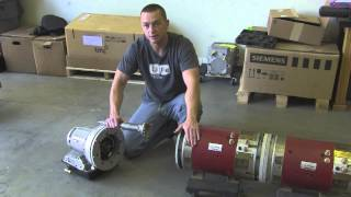 getlinkyoutube.com-Dual Motor Electric Vehicle Drivetrain With Powerglide 2 Speed Transmission Walkthrough by EV West