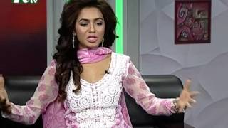 getlinkyoutube.com-Shuvo Shondha | Talk Show | Episode 4165 | Conversation with Actress Nusrat Faria