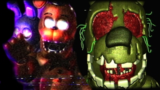 getlinkyoutube.com-SPRINGTRAP IS BLIND!?.. || Five Nights at Freddy's 3D: Final Hours