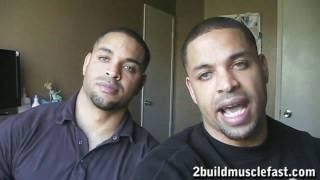 Bodybuilding Tip to Get Ripped Six Pack Abs & Lose Weight @hodgetwins