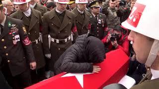 Şehit Pilot Üsteğmen Yasin Boy, son yolculuğuna uğurlandı