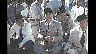 getlinkyoutube.com-TV interview on filming Pres. Sukarno in 1955