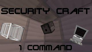 getlinkyoutube.com-The Security Craft Mod (One command)   1.8