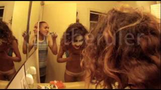 getlinkyoutube.com-Sexy Girl Pranked Into Her Bra and Panties