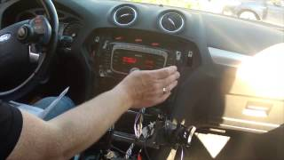 getlinkyoutube.com-Ford AUTODAB Installation in a -09 Ford Mondeo MK4 (with one arm)