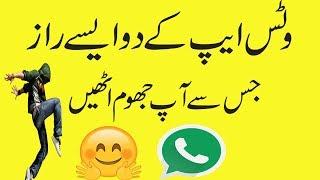 Whatsapp new secret tricks that make you happy In Urdu Hindi
