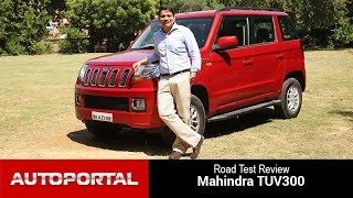 Mahindra TUV300 Test Drive Review - Auto Portal
