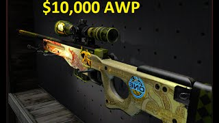 getlinkyoutube.com-Dragon Lore Souvenir FN gameplay (~$10,000 Awp )