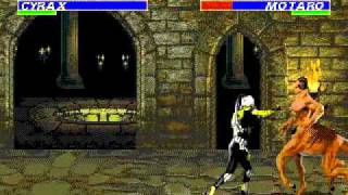 getlinkyoutube.com-Mortal Kombat 3 SEGA Genesis/Mega Drive (Very Hard difficulty) - Real Time Playthrough