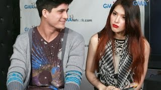 getlinkyoutube.com-James Wright asks Kylie Padilla about Aljur Abrenica