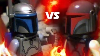 getlinkyoutube.com-LEGO Star Wars - Jango Fett vs Montross