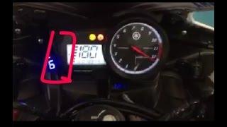 getlinkyoutube.com-Tune boss + Quick Shifter Yamaha R15 Top Speed 183 Km/h on Dyno Test