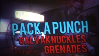 getlinkyoutube.com-Pack a Punched Galvaknuckles and Grenades - Tranzit (Black Ops 2 Zombies)