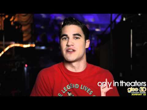 Glee 3D Movie: On the Road with Blaine Anderson
