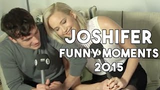 getlinkyoutube.com-Jennifer Lawrence & Josh Hutcherson Funny Moments 2015