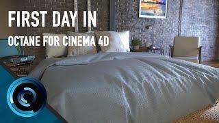 getlinkyoutube.com-First Day In Octane For Cinema 4D
