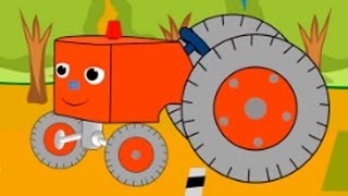 getlinkyoutube.com-Мультфильм про маленький трактор. Детская передача Учимся Вместе.