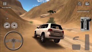 getlinkyoutube.com-Offroad drive: Desert -Toyota Land Cruiser 200