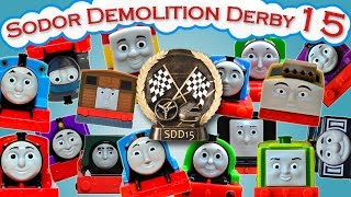 getlinkyoutube.com-Sodor Demolition Derby 15 | Thomas and Friends Trackmaster | Strongest Engine