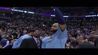 getlinkyoutube.com-Vince Carter gets tearful during Toronto Raptors video tribute -- Grizzlies at Raptors