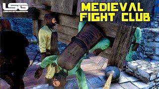 getlinkyoutube.com-Medieval Engineers - Fight Club & Dodgeball Madness