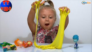 getlinkyoutube.com-✔ ФИКСИКИ. Игры с игрушками для детей. Ярослава и ФиксиКлуб проводят опыты. Серия 40 ✔