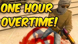ONE HOUR LONG GAME ON ESEA OVERTIME - CS GO Competitive