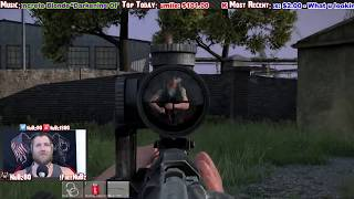 getlinkyoutube.com-DayZ Hacking Stream Snipers get REKT!!!
