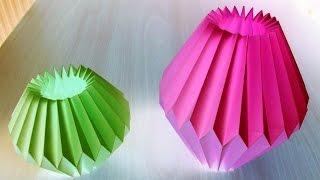 getlinkyoutube.com-Home Decor Paper Crafts for Light Bulb by SrujanaTV