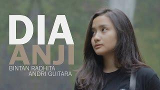 getlinkyoutube.com-Dia - Anji (Bintan Radhita, Andri Guitara) cover