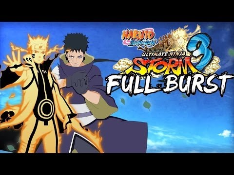 Naruto Shipudden Ultimate Ninja Storm 3 Full Burst Gameplay By ToxXx!K@