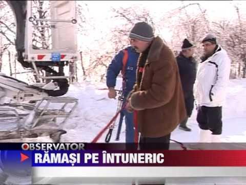 Ialomita Nametii uriasi au taiat lumina catorva mii de oameni 9 FEBRUARIE 2012