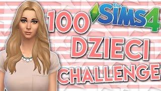 getlinkyoutube.com-THE SIMS 4 CHALLENGE 100 DZIECI #106 SUPER MAMA