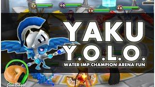 getlinkyoutube.com-SUMMONERS WAR : Y.O.L.O. YAKU (water imp champion arena testing)