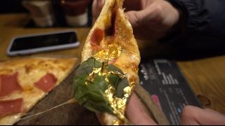 Gerçek Altından Pizza Yemek