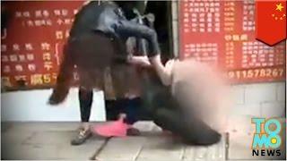 getlinkyoutube.com-Istri menghajar selingkuhan suaminya di jalanan - Tomonews