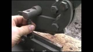 getlinkyoutube.com-Ножницы рычажные по металлу самодельные