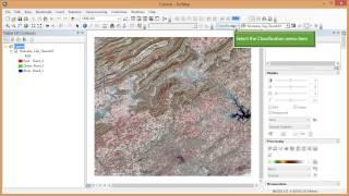 getlinkyoutube.com-Remote Sensing in ArcGIS Tutorial 19b. Supervised Classification of Landsat Imagery