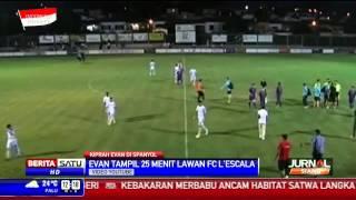 getlinkyoutube.com-Pertandingan Perdana Evan Dimas di Klub Spanyol