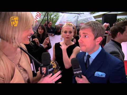 Martin Freeman - Television Awards Red Carpet in 2013