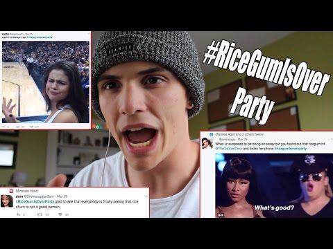 TheGabbieShow Fans Roasted RiceGum!