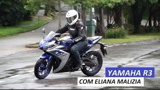 getlinkyoutube.com-Garagem Moto: Yamaha R3 (com Eliana Malizia)