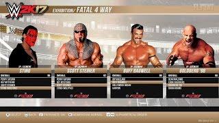 getlinkyoutube.com-WWE 2K17 WCW Roster Unlockable Legends - PS4, XB1, PS3, Xbox 360  (notion)