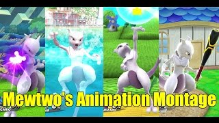 getlinkyoutube.com-Mewtwo's Various Animations Montage & MUCH MORE (Super Smash Bros Wii U)