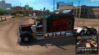 Kenworth W900 Long for ATS short review