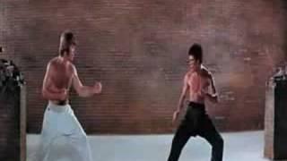 BRUCE LEE vs CHUCK NORRÄ°S (la pelea del siglo)