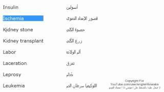 مصطلحات طبية باللغة الانجليزية الجزء 7